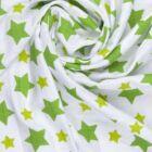 Bambusz fürdőlepedő, kifogó PRÉMIUM CSEH MINŐSÉG - Zöld csillagos