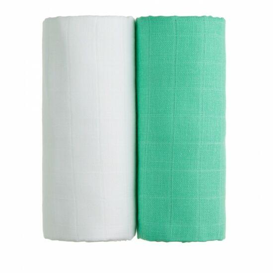 Tetra fürdőlepedő, kifogó PRÉMIUM CSEH MINŐSÉG - Fehér-zöld 2db